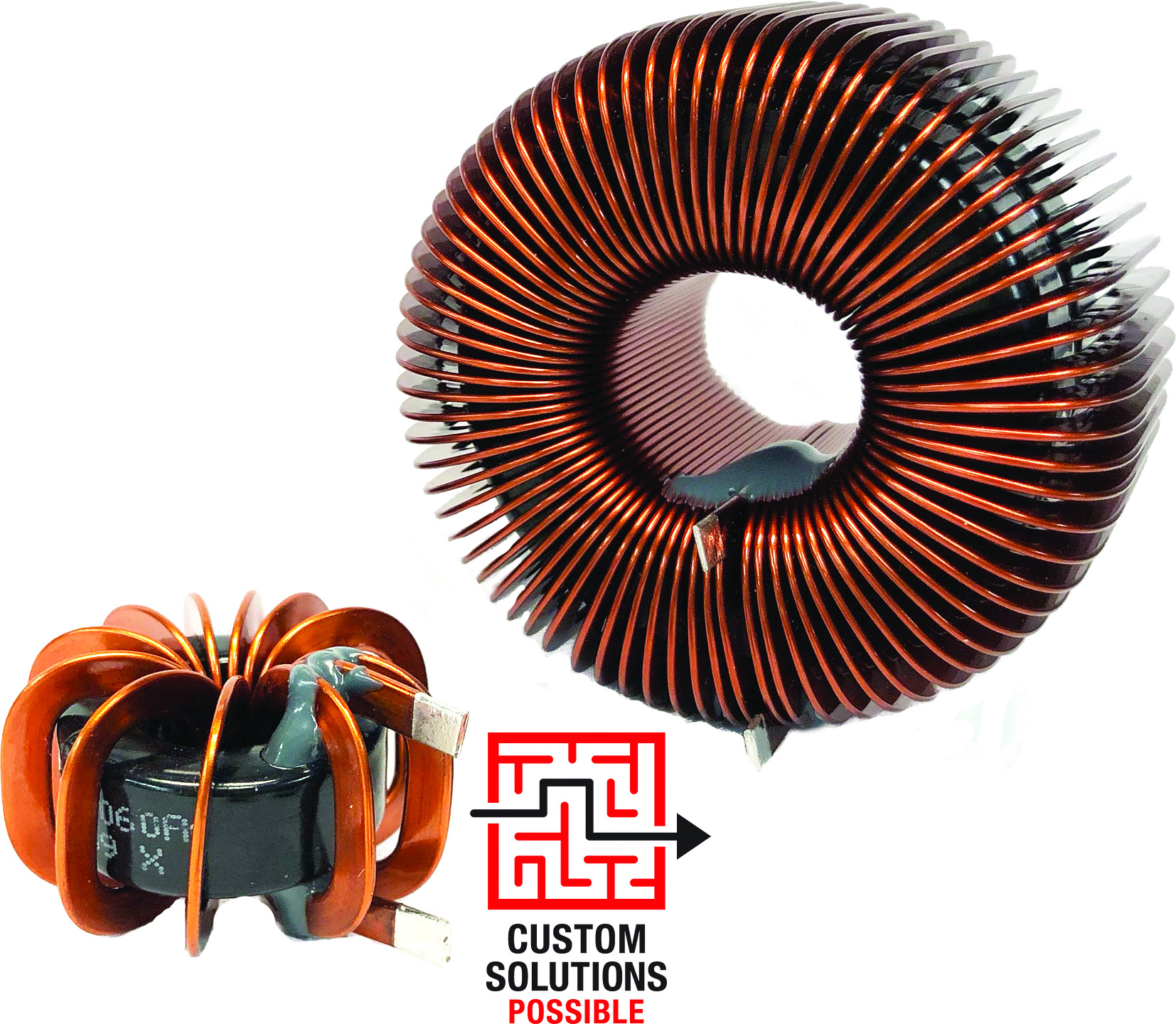 MID-FLT Flat Wire Power Inductors | Finished Magnetic